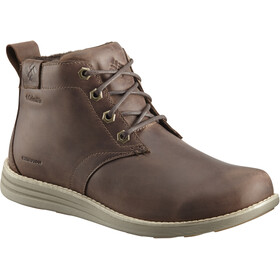 Columbia Irvington II Chukka LTR WP Shoes Men Cordovan/Pebble